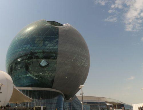 Le Projet Nur Alem Pavilion présenté à la conférence «Energy as Landscape Infrastructure»