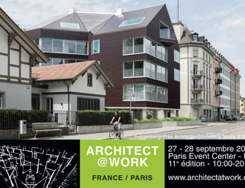 Meet us at Architect@Work, Paris 2018