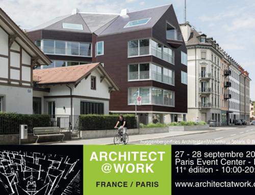 Retrouvez-nous à Architect@Work, Paris 2018
